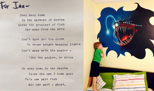 Ian - poem and mural