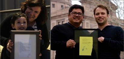 Poem recipients