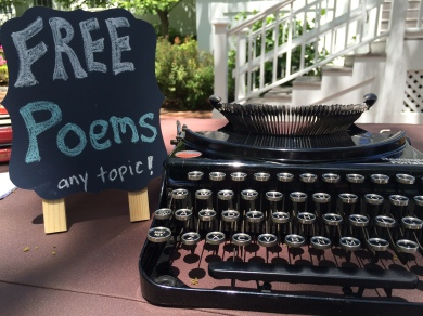 Atheneum - FREE POEMS sign-2